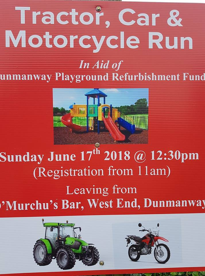 dunmanway Have you got your Tractor polished and ready. Is your car/lorry/bike spruced up?